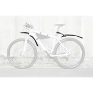 """SKS-Germany X-Blade Dark 29"""" kerékpár sárvédő hátra [fekete]"""