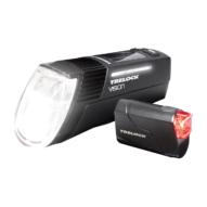Trelock LS760 I-GO VISION + LS720 Reego lámpa szett