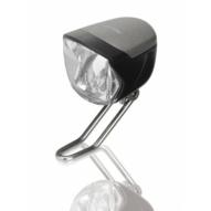 Kerékpár Lámpa agydinamós első, LED, 70 LUX, e-bike, kapcsőló, szenzor, állófény