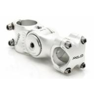 Kerékpár Kormányszár A-Head alu ezüst 1 1/8, 25,4mm -40/+40 fok, 128 mm ST-M02