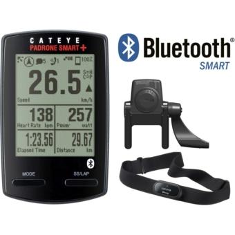 Kerékpár COMPUTER CATEYE PADRONE SMART+ 37 FUNK WIRELESS SP&CAD&HR
