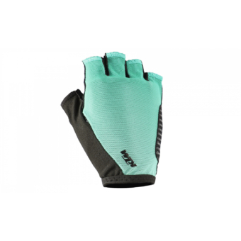 KTM LADY LINE GLOVES SHORT AQUA/BLACK