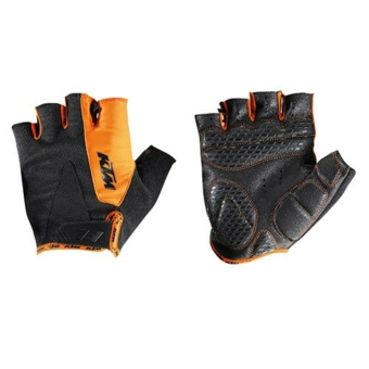 KTM FACTORY LINE GLOVES SHORT BLACK/ORANGE