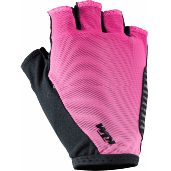 KTM LADY LINE GLOVES SHORT BLACK/BERRY