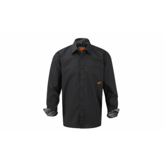 KTM Factory Team Plaid Shirt Men black