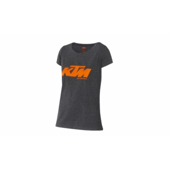 KTM Lady Team T-shirt shortsleeve black/orange
