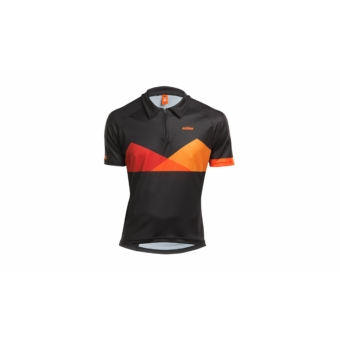 KTM Factory Character Polo shortsleeve black/orange