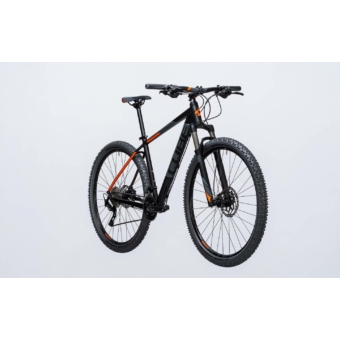 "Cube Attention SL black n flashorange 2017 29"" MTB Kerékpár"