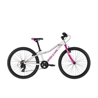 """Kellys Kiter 30 White 11 24"""" lány gyermek kerékpár 2020"""