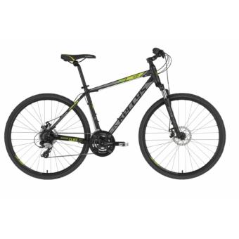 Kellys Cliff 70 Black Green cross trekking kerékpár 2020