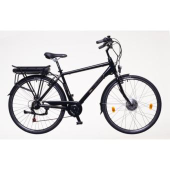 Neuzer E-Trekking Zagon Shengyi fekete/bronz/kék Férfi Elektromos Trekking Kerékpár