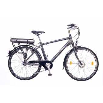 """Neuzer E-City férfi antracit/ezüst- cián 18"""" Elektromos kerékpár"""