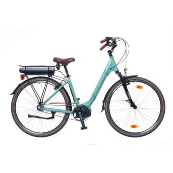 """Neuzer Menton N3 női világos türkiz matt 18"""" Elektromos kerékpár"""