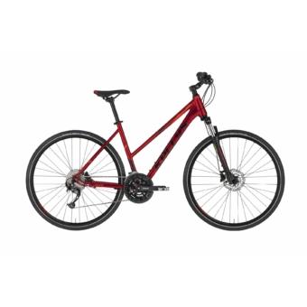 Kellys Pheebe 30 Dark Red női cross trekking kerékpár 2020