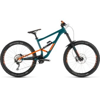 CUBE HANZZ 190 RACE 27.5 Férfi Összteleszkópos MTB Kerékpár 2019