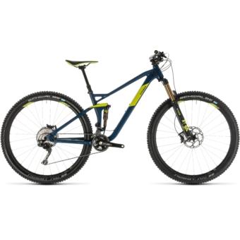 CUBE STEREO 120 SL 29 Férfi Összteleszkópos MTB Kerékpár 2019