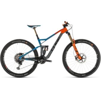 CUBE STEREO 150 C:68 ACTION TEAM 29 Férfi Összteleszkópos MTB Kerékpár 2019