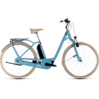CUBE ELLA CRUISE HYBRID 400 Női Elektromos Városi Kerékpár 2020 - Több Színben