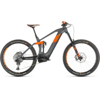 CUBE STEREO HYBRID 160 HPC TM 625 27.5 Férfi Elektromos Összteleszkópos MTB Kerékpár 2020