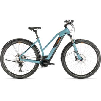 CUBE CROSS HYBRID RACE 500 ALLROAD TRAPÉZ Női Elektromos Cross Trekking Kerékpár 2020 - Több Színben