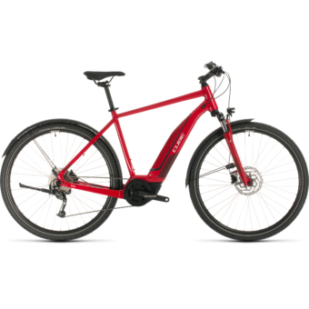 CUBE NATURE HYBRID ONE 400 ALLROAD Férfi Elektromos Cross Trekking Kerékpár 2020 - Több Színben