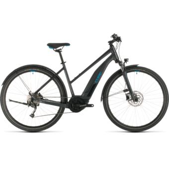 CUBE NATURE HYBRID ONE 400 ALLROAD TRAPÉZ Női Elektromos Cross Trekking Kerékpár 2020 - Több Színben