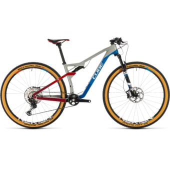 CUBE AMS 100 C:68 SL 29 TEAMLINE Férfi Összteleszkópos MTB Kerékpár 2020