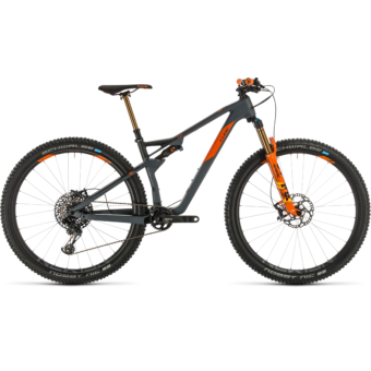 CUBE AMS 100 C:68 TM 29 Férfi Összteleszkópos MTB Kerékpár 2020