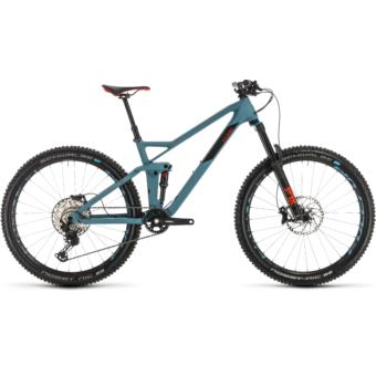 CUBE STEREO 140 HPC RACE 27,5 Férfi Összteleszkópos MTB Kerékpár 2020