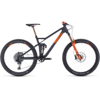CUBE STEREO 140 HPC TM 27,5 Férfi Összteleszkópos MTB Kerékpár 2020