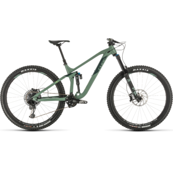 CUBE STEREO 170 RACE 29 Férfi Összteleszkópos MTB Kerékpár 2020