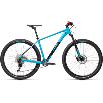 CUBE ATTENTION SL 27,5 petrol´n´red Férfi MTB Kerékpár 2021