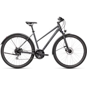 CUBE NATURE ALLROAD TRAPÉZ iridium´n´black Női Cross Trekking Kerékpár 2021