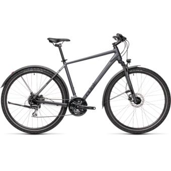 CUBE NATURE ALLROAD iridium´n´black Férfi Cross Trekking Kerékpár 2021