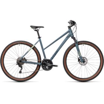 CUBE NATURE PRO TRAPÉZ blue´n´green Női Cross Trekking Kerékpár 2021