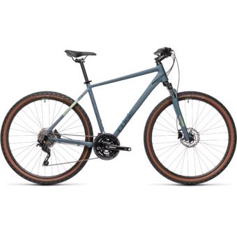 CUBE NATURE PRO blue´n´green Férfi Cross Trekking Kerékpár 2021