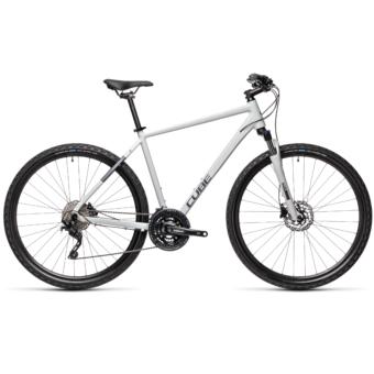 CUBE NATURE PRO grey`n´iridium Férfi Cross Trekking Kerékpár 2021