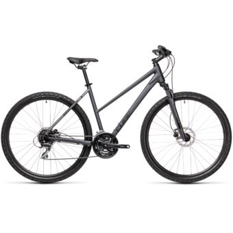 CUBE NATURE TRAPÉZ iridium´n´black Női Cross Trekking Kerékpár 2021