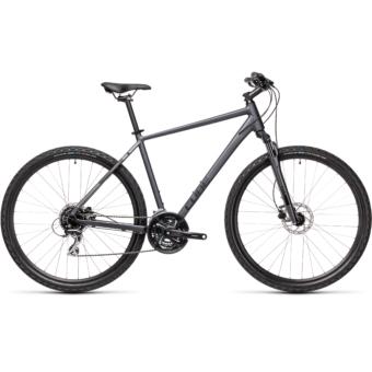 CUBE NATURE iridium´n´black Férfi Cross Trekking Kerékpár 2021