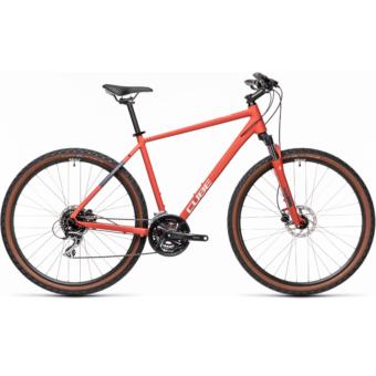 CUBE NATURE red´n´grey Férfi Cross Trekking Kerékpár 2021