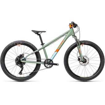 """CUBE  ACID 240 DISC GREEN´N´ORANGE 24"""" Gyerek Kerékpár 2021"""