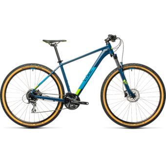 """CUBE AIM RACE BLUEBERRY´N´LIME 29"""" Férfi MTB Kerékpár 2021"""