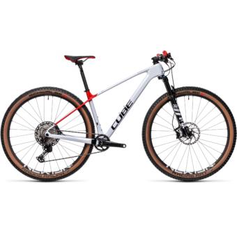 """CUBE ELITE C:68X PRO FLASHWHITE´N´RED 29"""" Férfi MTB Kerékpár 2021"""