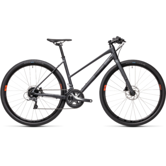 "CUBE SL ROAD IRIDIUM´N´BLACK 28"" TRAPÉZ 2021"