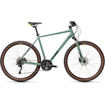 "CUBE NATURE EXC GREEN´N´BLUEGREEN 28"" 2021"