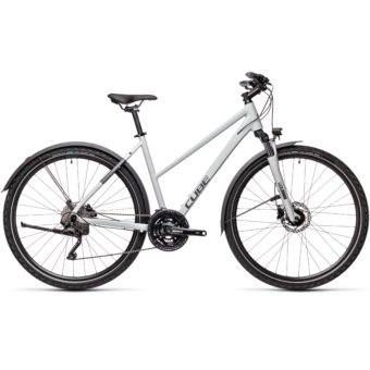 "CUBE NATURE PRO ALLROAD GREY´N´IRIDIUM 28"" TRAPÉZ 2021"