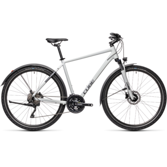 "CUBE NATURE PRO ALLROAD GREY´N´IRIDIUM 28"" 2021"