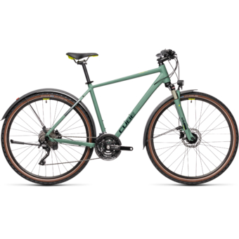 """CUBE NATURE EXC ALLROAD GREEN´N´BLUE 28"""" 2021"""