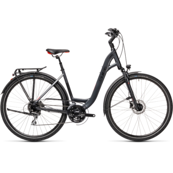 "CUBE TOURING ONE IRIDIUM 'N' RED 28"" EASY ENTRY 2021"