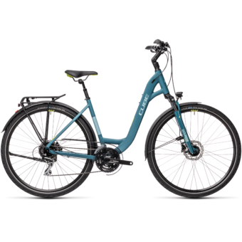 """CUBE TOURING ONE BLUE 'N' GREYBLUE 28"""" EASY ENTRY 2021"""